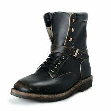 Maison Margiela 22 Homme Cuir Vieilli Combat Chaussures Bottes US 13 It 46