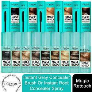 1xor2x L'Oreal Instant Grey Coverage Root Magic Retouch Concealer Brush or Spray