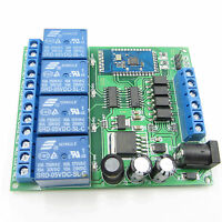Android Mobile 4-CH 5-24V Bluetooth Relay Remote Control Switch