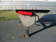 Lock for Landing Gear on semi trailer truck load security trucker 18 wheeler