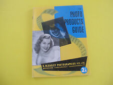 1966 67 Photo Products Guide Photographic Equipment Catalogue Cameras Projectors