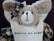 "Bearly An Angel"" Terry Bear"