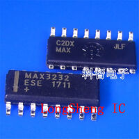 10 PCS MAX3232ESE+T SOIC-16 chip RS232 transceiver  new