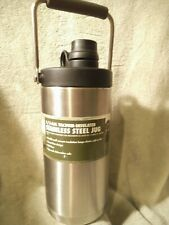 Ozark Trail 1/2-Gal Vacuum-Insulated Stainless Steel Jug Cold or Hot BPA-free