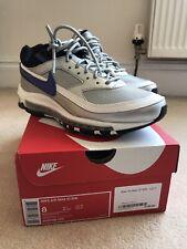 Nike Air Max 97/BW UK 7 Metallic Silver Persian Violet AO2406 002
