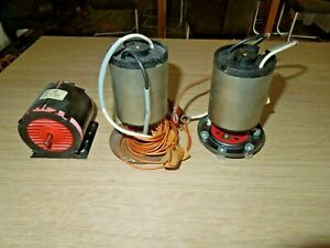 Konvolut 3 Stück Gleichstrommotor / Elektromotor 3-12 V und 12 V