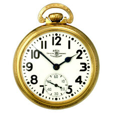 Ball Hamilton Model 998E Railroad Pocket Watch | 23 Jewels 16 Size High Quality