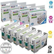 LD © 6pk Reman Cartridge Set for Epson Ink 127 T127 WorkForce 545 60 630 633 635