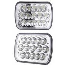 """2P 7X6"""" LED Headlight Upgrade for Ford Super Duty Truck F550 F600 F650 F700 F750"""