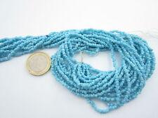 super offerta 10 fili di turchese in pasta lunghi 46 cm della misura di 3 x 2 mm