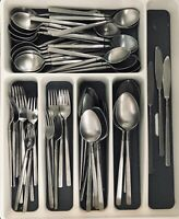Towle STEREO SCC Supreme Cutlery Stainless Flatware  63 Piece Set