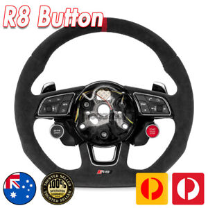 R8 Push START Button for Audi steering wheel A4 A5 S4 S5 RS5 RS4 RS3 RS6 RS7 A3