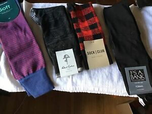 Lot Of Mens Socks, Varity Of Designers New With Tags - 4 Pair