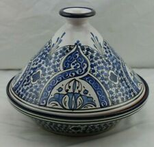 Williams Sonoma Tangine Bachmara NWOT Blue Pottery