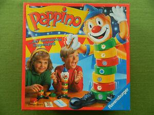 Peppino, der turbulente Stapelspaß von Ravensburger für 2-4 Spieler ab 5 Jahre