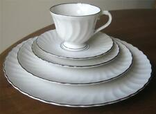 Syracuse WEDDING RING 5 Piece Place Setting Great Condition