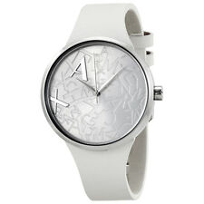 Armani Exchange Street Silver-Logo Accented Dial Ladies Watch AX4505