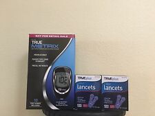 BUY 200 LANCETS 30G AND GET True Metrix Blood Glucose Monitoring System Kit FREE