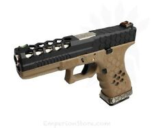 ARMORER WORKS VX0111 Hex-Cut Tan Airsoft Softair GLK WE Tokyo Marui Green Gas