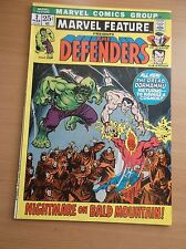 MARVEL FEATURE #2, 2ND DEFENDERS APPEARANCE, NETFLIX SERIES , 1972, NM (9.4)!!!