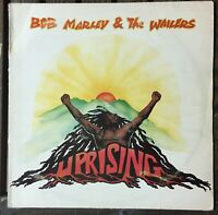 Bob Marley & The Wailers ‎– Uprising 1980 RaRe Greek First Press Vinyl, LP,Album