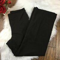 Talbots Women's Brown Dressy Side Zip Work Career Pants Size 10P Petites