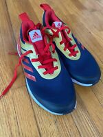 New Youth Adidas RapidaRun Avengers Captain Marvel Running Shoes Size 3 (G27549)