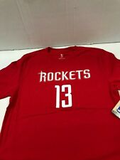 NBA Houston Rockets # 13 James Harden Name & Number Youth Tee Large 14-16