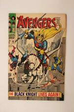 Avengers # 48 -  HIGH GRADE -  The Black Knight!  MARVEL Comics