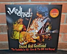 THE YARDBIRDS - Dazed And Confused LIVE 1968 Ltd 180G WHITE VINYL + DVD Gatefold