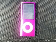 Hot pink Ipod Nano A1285^8 gb ^4th gen