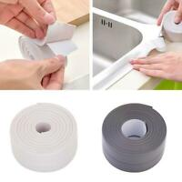 Bath Wall Sealing Strip Self-Adhesive Kitchen Caulk Bath Basin Sink E8E2 M5A0