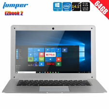 "14.1"" JUMPER EZbook 2 Windows 10 Laptop PC 4G+64GB Intel Ultrabook HDMI Notebook"