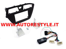 PANEL COMMANDS STEERING WHEEL MONITOR NAVIGATOR DOUBLE 2 DIN HYUNDAI I20 FROM 15