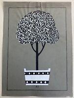 Jugendstil Entwurf Skizze Studie 47 Art-Nouveau Kübel mit Baum Produkt Design