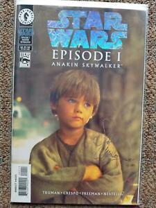 Dark Horse STAR WARS Episode 1 Anakin Skywalker Holofoil Signed Crespo COA MINT