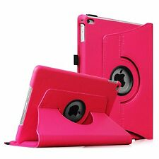 Apple iPad 2 3 4 360 Degree Rotating Leather Folding Flip Smart Case Cover