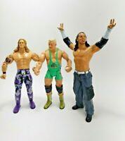 Lot Of 3 WWE Jakks Pacific Wrestling Action Figure random preowned 2003 up