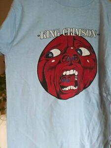 KING CRIMSON 1969 In the Court of Crimson King vintage concert tour shirt SM