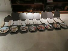 """Lot Of 8 Knowles Jeanne Down Friends I Remember 8.5"""" Collector Plates"""