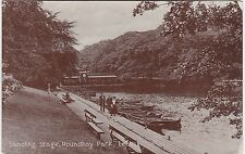 Landing Stage, Roundhay Park, LEEDS, Yorkshire