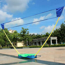 New Sport Games Portable Badminton Set Tennis Volleyball Net with Stand