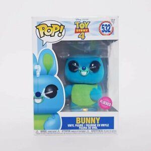 Flocked Bunny #532 Funko Pop Vinyl - Toy Story 4 + Pop Protector