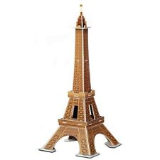 New Eiffel Tower France 3D Model Jigsaw Puzzle - FREE POSTAGE