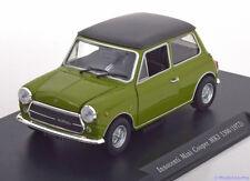 1:24 Leo Models Mini Cooper MK3 1300 1972 green/black