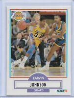 1990 Fleer Earvin Johnson #93 Basketball Card