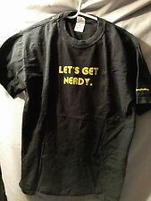 Med- Microsoft Lets Get Nerdy Promo T- Shirt