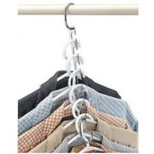 Space Saving Closet Clothes Magic Hanger Holders 6 Hook Adjustable Organizer JJ