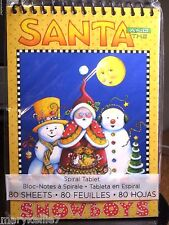 Mary Engelbreit 80 Page Journal Santa And The Snow Boys With Bright Moon In Sky
