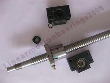 1 new anti backlash ballscrew RM1605-375mm-C7 end-machined CNC